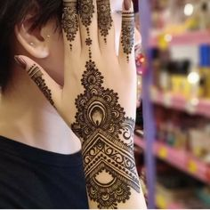 Trending Mehndi Designs For Your Occasions to WeddingYou can find Mehndi designs and more on our website.Trending Mehndi Designs For Your Occasions to Wedding Henna Hand Designs, Dulhan Mehndi Designs, Mehandi Designs, Mehendi, Mehndi Designs Finger, Modern Henna Designs, Indian Mehndi Designs, Mehndi Designs For Girls, Mehndi Designs For Fingers