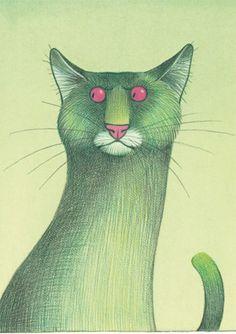 Green cat - Karsten Teich