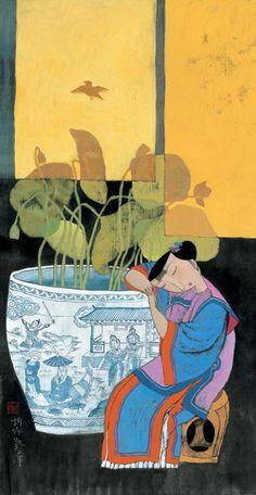 LOTUS FANTASY, Hu Yongkai (male, 胡永凯; b1945, Beijing)