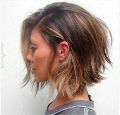 Cortes de cabelo chanel, modernos, repicados, desfiados de bico e assimétricos | Moda & Casa