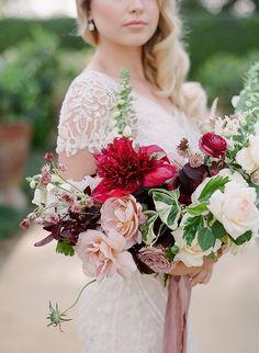 Florist: http://www.laurasfloras.com | Wedding dress: http://www.bhldn.com | Hair and makeup: https://www.saltspellbeauty.com/ | Wedding photographers: http://www.jessicakay.com/ | Read More: https://www.stylemepretty.com/vault/image/6202724