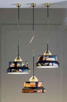 Aperitivo Pendant Lamp in Blue by Servomuto for sale at Pamono her office Pendant Chandelier, Pendant Lighting, Ceiling Rose, Ceiling Lights, Home Interior, Interior Design, Design Design, Interior Paint, Luxury Interior