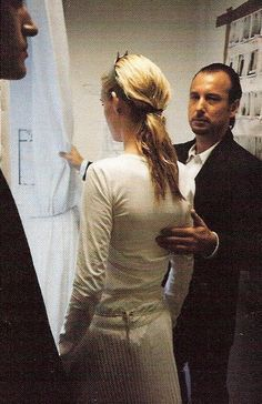 Helmut Lang and Kirsten Owen