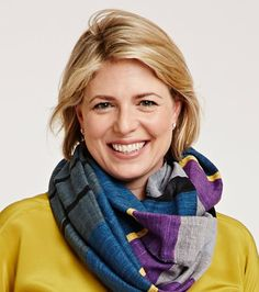 Tea Collection CCO & Co-Founder in Tea's FashionABLE scarf