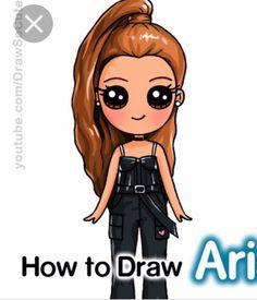 Kawaii Girl Drawings, Cute Animal Drawings Kawaii, Cute Disney Drawings, Disney Princess Drawings, Cute Girl Drawing, Cute Kawaii Girl, Cute Cartoon Girl, Cartoon Pics, Cute Drawings Of People