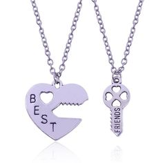 Cool Best Friends Necklace. Sets BFF Necklaces & Pendants
