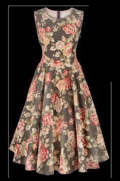 Lady Rose Dress Gray € 430,00