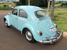 Vw Fusca 1962 Azul 1962 - Ano 1962 - 99999 km - no MercadoLivre