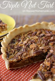 Triple Nut Tart | Re