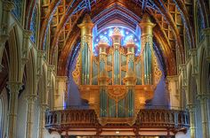 Holy Name Cathedral's pipe organ (Chicago, Illinois USA)
