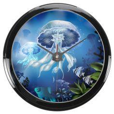 Underwater 6A Aqua Clock Options