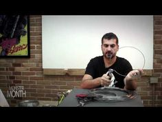 HOW TO BUILD WIRE ARMATURES FOR SCULPTING DESIGNS - MONSTER MONTH - PREVIEW 1 - YouTube-(not into monster/demon characters, but this is a good tutorial on wire armatures) mc