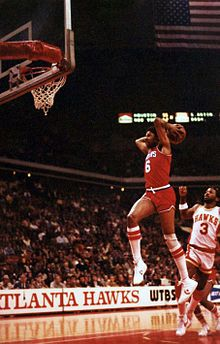 Dr. J with a dunk!!!