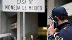 El robo millonario en la tienda de la Casa de Moneda de la Ciudad de México