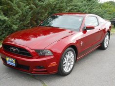 2014 Ford Mustang V6Premium V6 Premium 2dr Coupe Coupe 2 Doors Ruby Red Metallic Tinted Clearcoat for sale in Randolph, NJ http://www.usedcarsgroup.com/used-cars-for-sale-in-randolph-nj