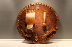 Brooch Targe | Highland Targe | Scottish Targes & Celtic Leatherwork Back