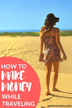 If you've been wanting to travel more without having to dip into your savings, well my friend, this blog post is for you! I am so happy that you're here and you want to learn more about how to make money while traveling. It's actually a lot easier than most people think to make money and travel. Click through to find out 12 ways to make money while traveling.