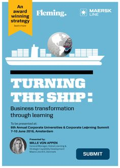 Maersk Line, Learning To Be, Landing, Bring It On, Knowledge, University, Management, Journey, Events