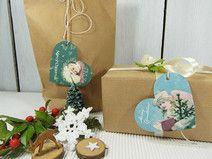 Geschenkanhänger Weihnachten Vintage Papier Tags Grafik Design, Christmas Presents, Gift Tags, Drop Earrings, Gifts, Beautiful Things, Craft Items, Creative Ideas, Presents
