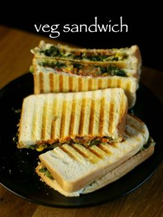 how to make veg cheese sandwich at home