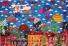 naive-painting-called-it's-too-late-to-turn-back-now-by-artist-marie-jonsson-harrison