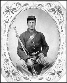 a young confederate soldier