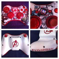 Comic Themed Xbox Controller - The Supermums Craft Fair