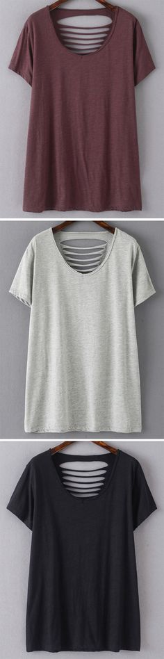 DIY: Cut large T-Shirt. More