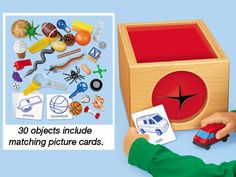 The Mystery Box & Guessing Game Another easy to make idea (thanks, Lakeshore Learning) Montessori Activities, Learning Activities, Kids Learning, Activities For Kids, Communication Activities, Communication Skills, Reuse Old Clothes, Lakeshore Learning, Picture Cards