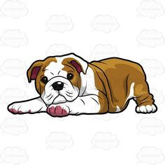 Concept Design Home: Cute Bulldog Clipart Pictures
