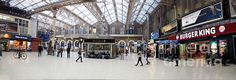 Charing Cross Station Panorama Urban Images July 2015