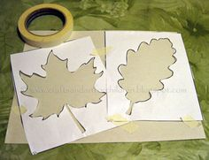 fall crafts for preschoolers | Crafts -N- Things for Children: Fall Leaf Crafts for Kids