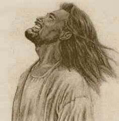 Jesus laughing. :)