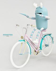 MONSTER. FUR-BIKE on Character Design Served