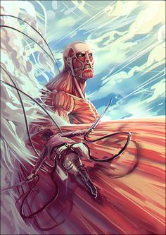 Shingeki no Kyojin - Eren - Attack on titanium