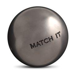 Triplette OBUT - Diamètre 74 - Poids 720g - Demi-tendre - Inox dans la masse - Match It -  Sans stries - 123€