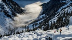 Pillows in B.C. with Eagle Pass Heli Skiing