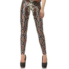 Crazy Leggings, Yoga Leggings, Galaxy Leggings, Spandex Pants, Snake Skin Pattern, Roller Derby, New Trends, High Fashion, Print Patterns