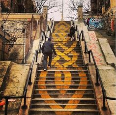 "279 Likes, 7 Comments - I'm so NYC (@im_so_nyc_718) on Instagram: ""Art on the stairs in the Bronx"""