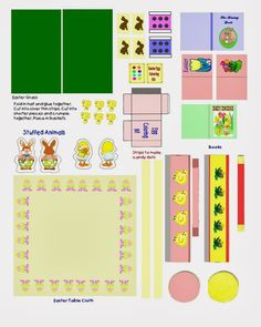 dolls house printable easter - Google Search