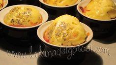 Muffin di Carbonara Invertita