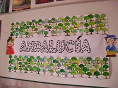Resultado de imagen de decoracion de andalucia para ninos Murcia, Frame, Ideas Para, Google, Monkey, Kindergarten, Patio, Infant Crafts, Crafts For Kids