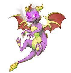 Spyroooo by dRaWiNgWiThHeArT.deviantart.com on @deviantART