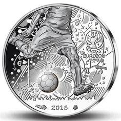 Erste offizielle 10-Euro-Silbermünze zur EM!