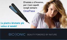 La piastra OnePass non ovalizza i capelli, ma li rende più belli e più sani ad ogni passata, mantenendo al loro interno la giusta dose di idratazione. Un miracolo? No, è la tecnologia del benessere di Bio Ionic! Provala sui tuoi capelli e senti la differenza.