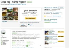 Hotelbewertung auf Tripadvior der Thermenwelt Hotel Pulverer http://www.tripadvisor.at/ShowUserReviews-g641721-d1222982-r207252337-Thermenwelt_Hotel_Pulverer-Bad_Kleinkirchheim_Carinthia_Austrian_Alps.html#CHECK_RATES_CONT