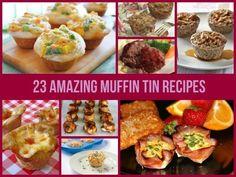 23 Amazing Muffin Tin Recipes