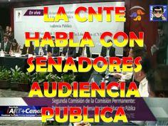 La CNTE pide que intervengan Senadores en Reforma Educativa Audiencia Pu...