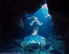 mermaids-and-anchors:  Mermaid Hyli instagram facebook youtube etsy