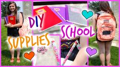 KEYWORDS: back to school DIY do it yourself supplies notebook folder calculator pencil toppers pens chalkboard backpack school crafts michaels target supplies haul makeup clothing fashion xxmakeupiscoolxx iheartvlogging high school middle school teen teens girl girly jansport rhinestone sparkly essentials locker